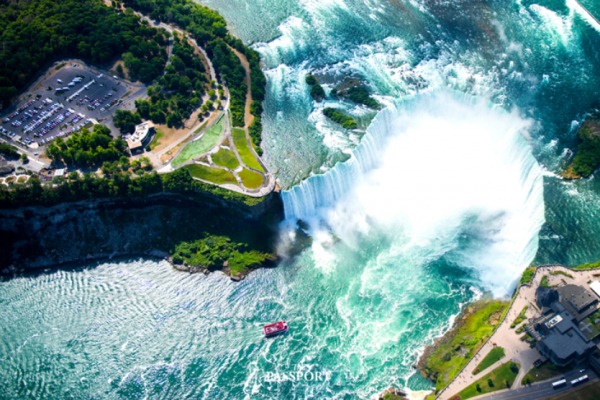 """Niagara Falls"" Greatness of nature"