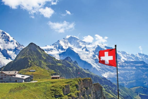 """Switzerland Land of paradise"""
